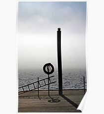 The End of the Dock - Toronto Ontario Poster