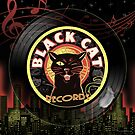 Black Cat LP Art Deco by Scott Jackson