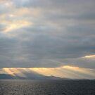 Sunrise over Santorini, Greece by Leah Gay