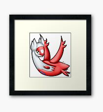 Pokemon - Latias Framed Print