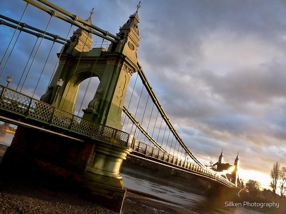 Hammersmith Bridge by Silken Photography