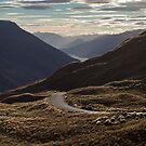 Crown Range Road by gematrium