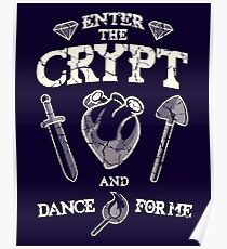 Enter the crypt. Poster