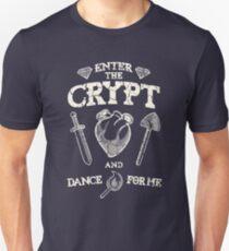 Enter the crypt. Unisex T-Shirt