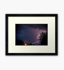 Modern Discovery of Electricity Framed Print