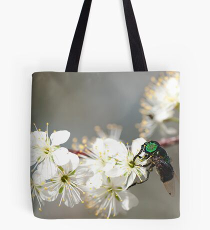 Green-eyed Bee Tote Bag