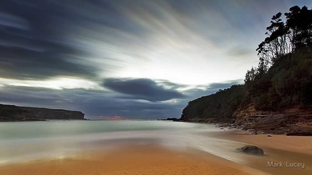 Sand of Wattamolla by Mark  Lucey