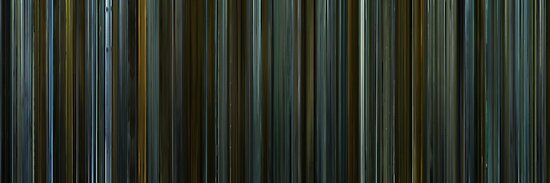 Moviebarcode: The Girl with the Dragon Tattoo (2011) by moviebarcode