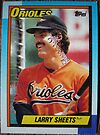 502 - Larry Sheets by Foob's Baseball Cards