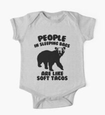 Camping Humor - Bear Food One Piece - Short Sleeve