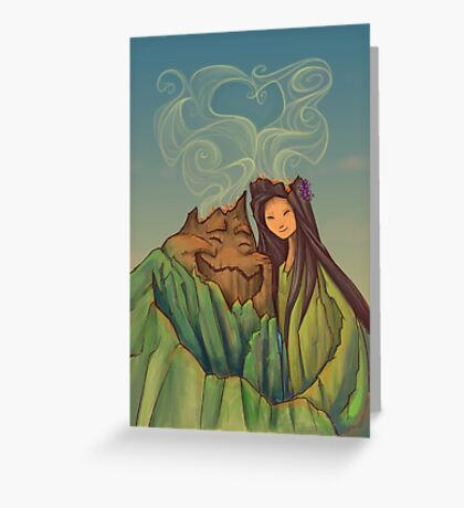 Lava Love Greeting Card
