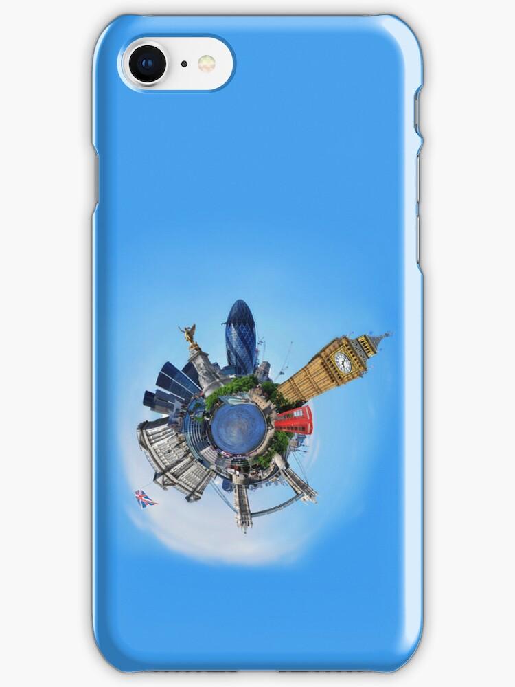 iPhone 4 Case: Little Planet London by Yhun Suarez