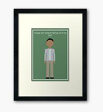 """Abed Nadir: """"Self-Esteem"""" Framed Print"""