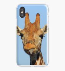 Mocking Giraffe iPhone Case/Skin
