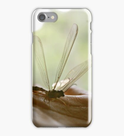 Dragonfly Whispers iPhone Case/Skin