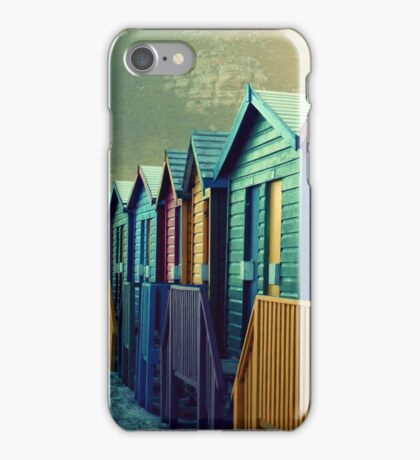 Beach Huts iPhone Case/Skin