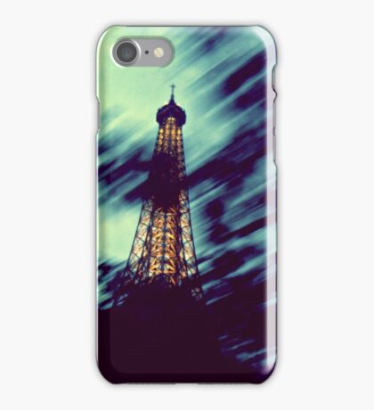Paris in a flash iPhone Case/Skin