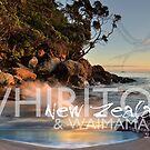 Whiritoa and Waimama Bay by Ken Wright
