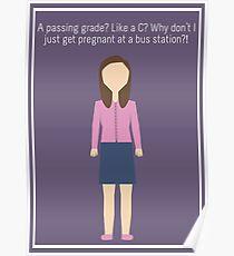 "Annie Edison: ""Passing Grade"" Poster"