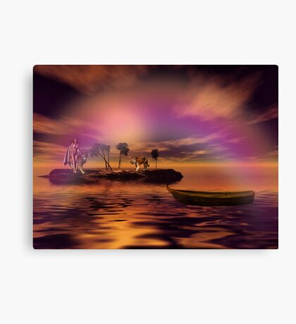 Secluded in Happiness Canvas Print