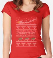 Christmas Vacation Misery Women's Fitted Scoop T-Shirt