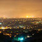 Pretoria at night #3 by Rudi Venter
