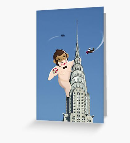 Queen Kong Greeting Card