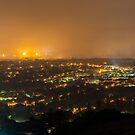 Pretoria at night #5 by Rudi Venter