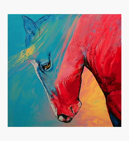 Painted Horse Photographic Print