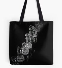 Glass Chess Pieces Tote Bag