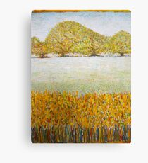 landscape with trees Canvas Print