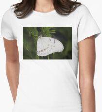 White Morpho Butterfly T-Shirt