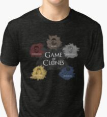 Game of Clones Metal Gear Tri-blend T-Shirt