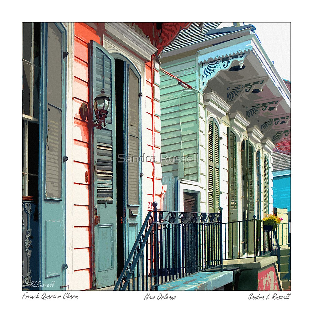 French Quarter Charm by Sandra Russell