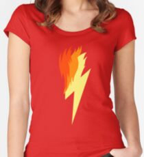 Spitefire's Cutie Mark Women's Fitted Scoop T-Shirt