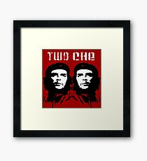 2 Che Framed Print