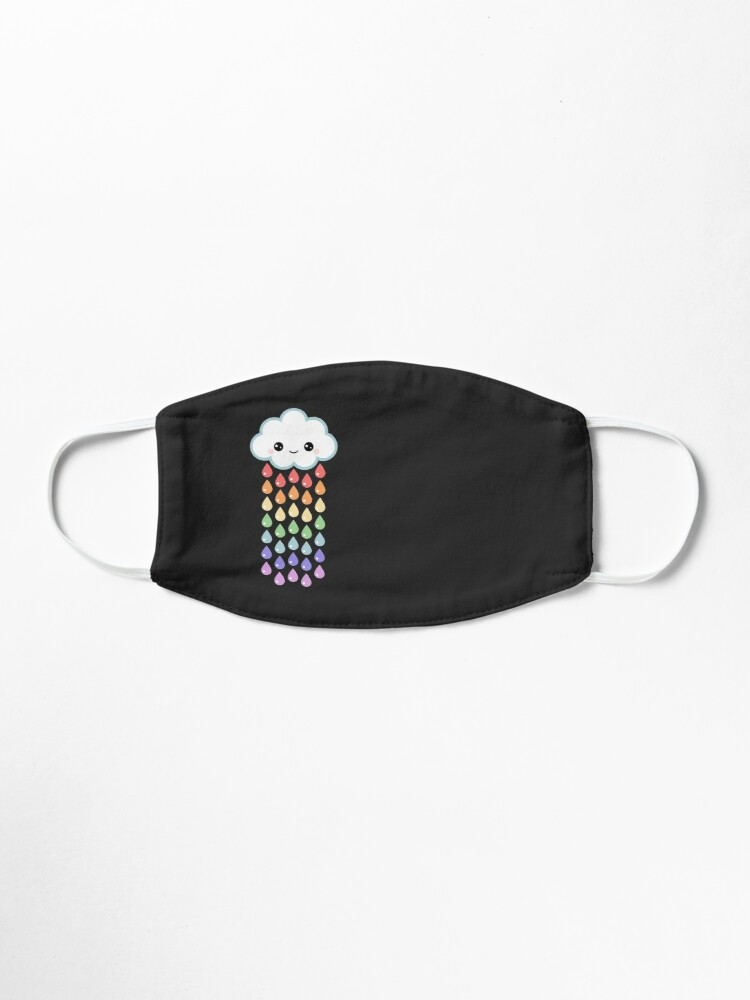 Cute Rain Cloud Face Mask