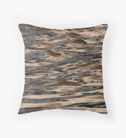 DNA's Ebb and Flow Throw Pillow