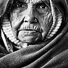 Woman portrait III by Mark Smart