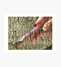 I have seen the writing on the wall Art Print