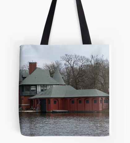 Boathouse at Roger Williams Park Tote Bag