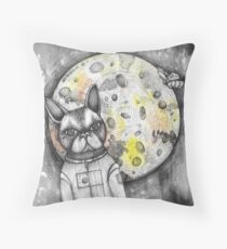 Boston Moon Throw Pillow
