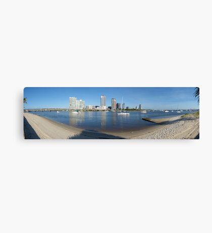 Broadwater panorama Canvas Print