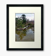 Public Park, Private Garden Framed Print