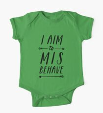 Aim To Misbehave   White Kids Clothes