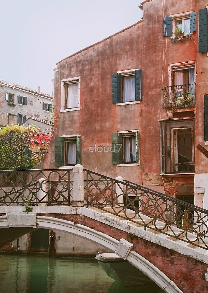 Vintage scenery from Venice. by cloud7