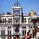 Bronze Horses - San Marco - Venice 1967 by Gilberte