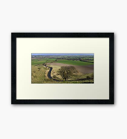 Road to the Top Framed Print