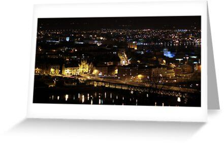 My beautiful city, Craigavon Bridge by Kevin  Carlin