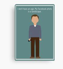 "Jeff Winger: ""Facebook Photo"" Canvas Print"